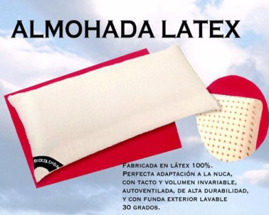 Almohada Bio-Latex